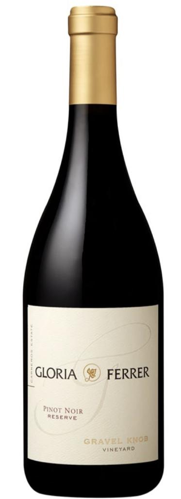 Gloria Ferrer Estate Varietals Gravel Knob Vineyard Pinot Noir Bottle Preview