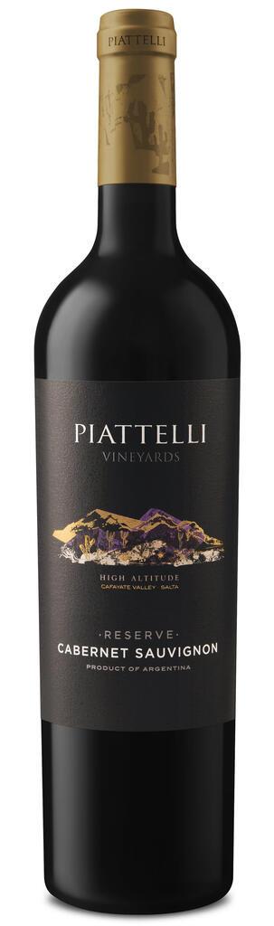 Piattelli Vineyards - Salta Piattelli Reserve Cabernet Sauvignon Cafayate Bottle Preview