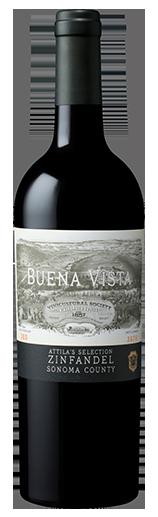 Buena Vista Winery Attila's Selection Zinfandel Bottle Preview