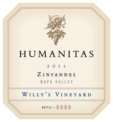 Humanitas Wines 'Good Earth' Zinfandel Willy's Vineyard Bottle Preview