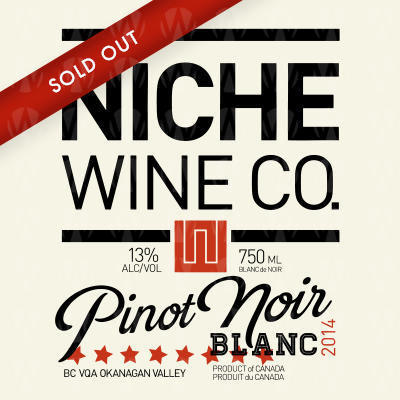Niche Wine Company Pinot Noir Blanc