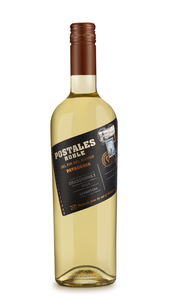 Postales Roble Chardonnay Bottle