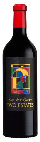 Cuvaison Two Estates Red Wine Bottle Preview