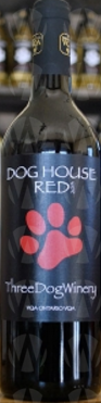 Three Dog Winery Dog House Red
