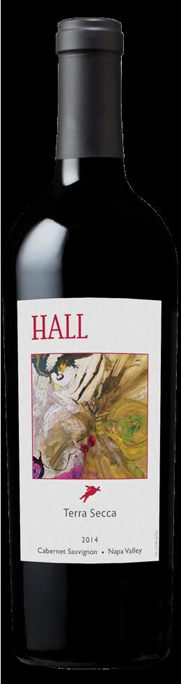 """HALL Napa Valley """"TERRA SECCA"""" CABERNET SAUVIGNON Bottle Preview"""