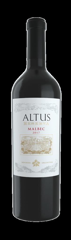 Altus Reserva Malbec Bottle