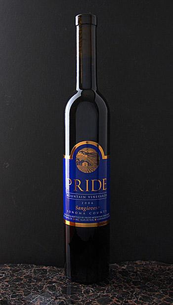 Pride Mountain Vineyards Sangiovese Bottle Preview