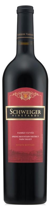 Schweiger Vineyards Family Cuvee Bottle Preview