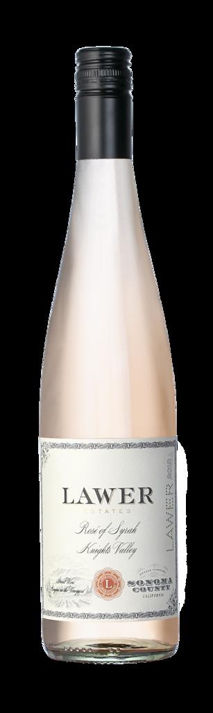Lawer Estates Rosé of Syrah Bottle