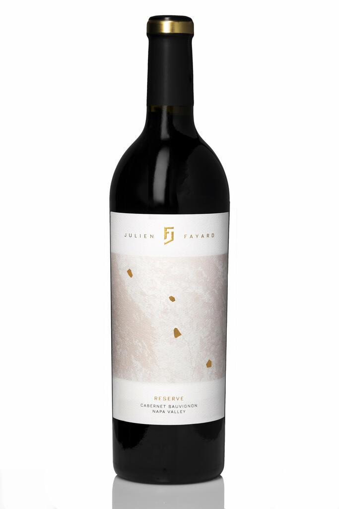 Fayard Wines Julien Fayard 2018 Reserve Cabernet Sauvignon Bottle Preview