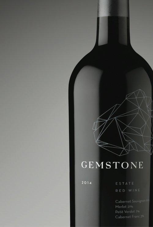 GEMSTONE ESTATE RED WINE Bottle