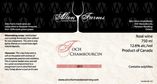 Alton Farms Estate Winery Foch Chambourcin