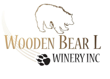 Wooden Bear L Winery Logo