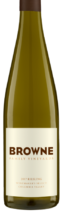Browne Family Vineyards Riesling Bottle Preview