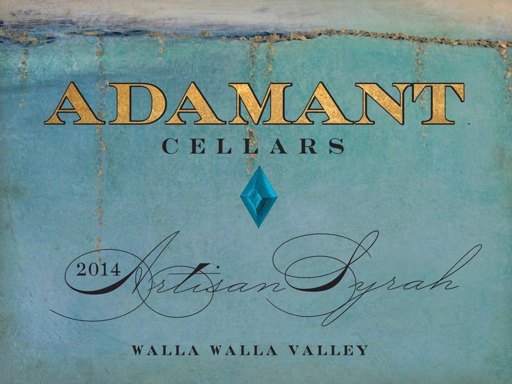 Adamant Cellars Artisan Syrah Bottle Preview