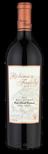 Robinson Family Vineyards Petit Verdot Bottle Preview