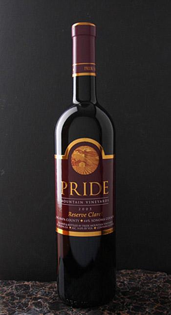 Pride Mountain Vineyards Reserve Claret Bottle Preview