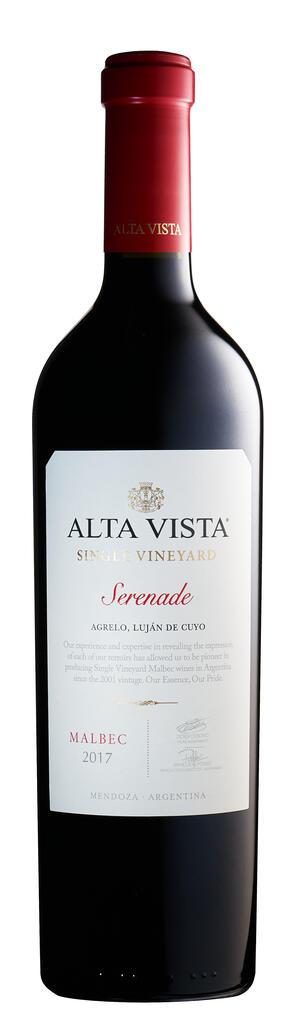 Alta Vista Wines Alta Vista Single Vineyard Serenade Bottle Preview