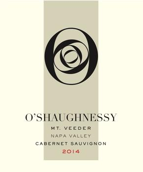 O'Shaughnessy Estate Winery Mount Veeder Cabernet Sauvignon Bottle Preview