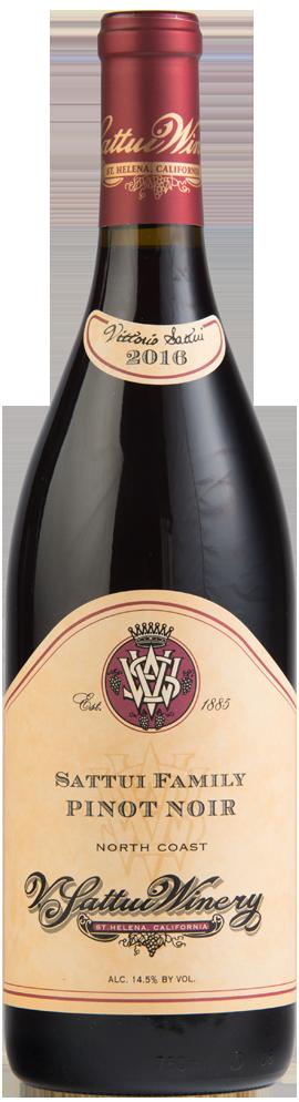 Sattui Family Pinot Noir Bottle