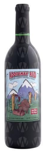 Columbia Gardens Vineyard & Winery Kootenay Red