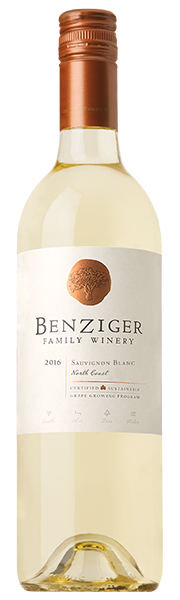 Benziger Family Winery North Coast Sauvignon Blanc Bottle Preview