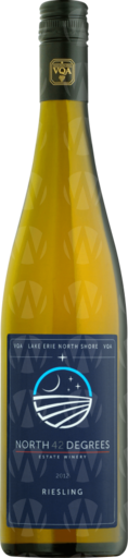 North 42 Degrees Estate Winery Riesling