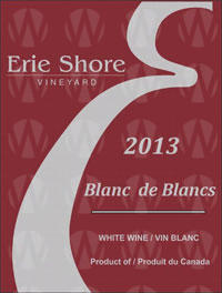 Erie Shore Vineyard Blancs de Blancs