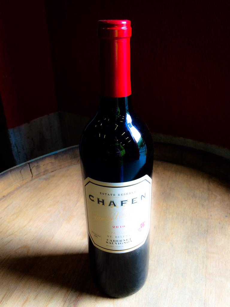 """Dutch Henry Winery """"Chafen Family"""" Estate Reserve Cabernet Bottle Preview"""