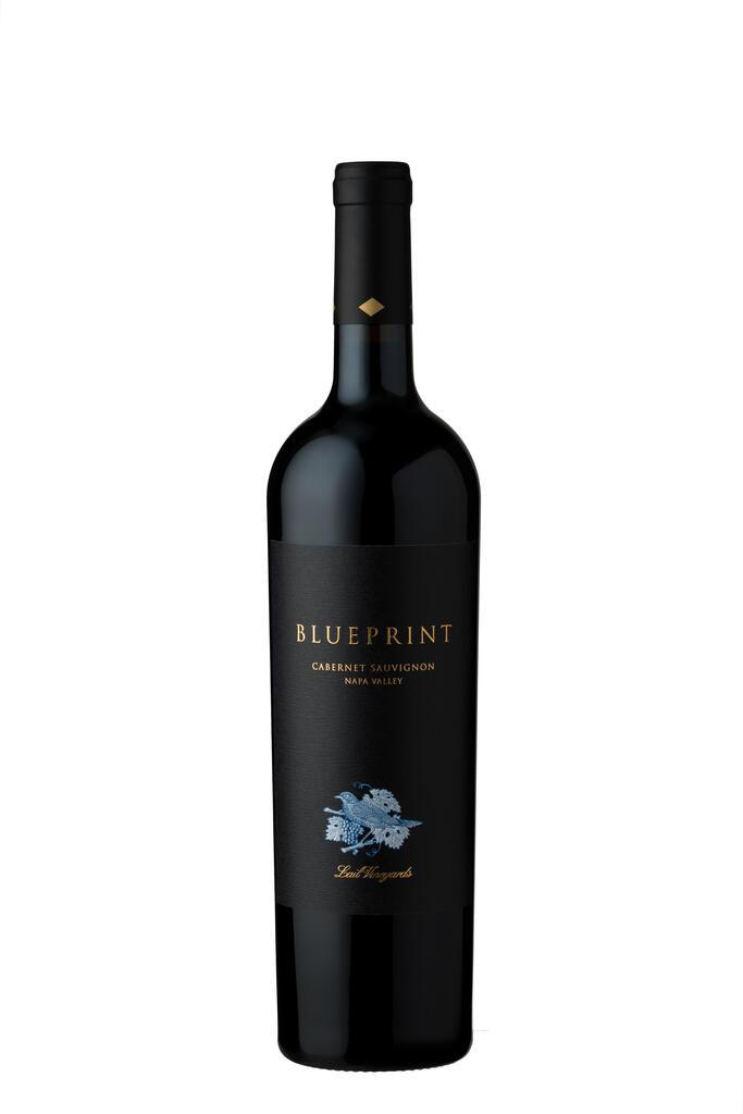 Lail Vineyards Blueprint Cabernet Sauvignon Bottle Preview