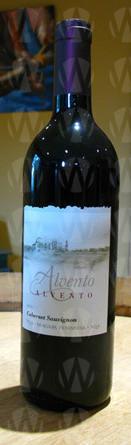 Alvento Winery Cabernet Sauvignon