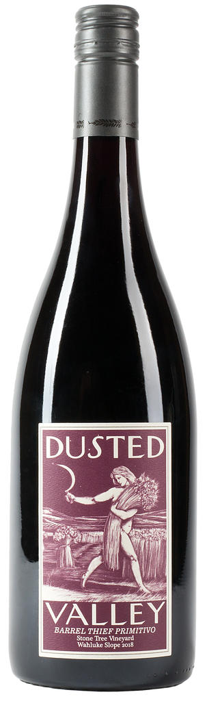 Dusted Valley Barrel Thief Primitivo Bottle Preview