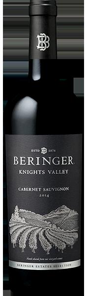 Beringer Cabernet Sauvignon Knights Valley Bottle