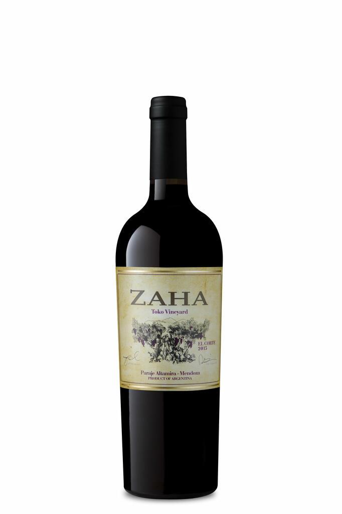 Bodega Teho Zaha Corte Bottle Preview