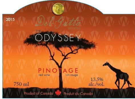 Del-Gatto Estates Pinotage Odyssey