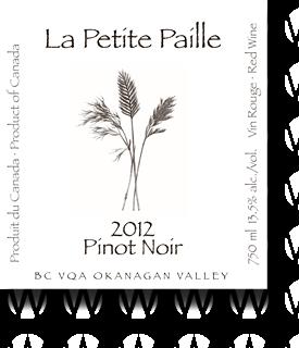 La Petite Paille Pinot Noir