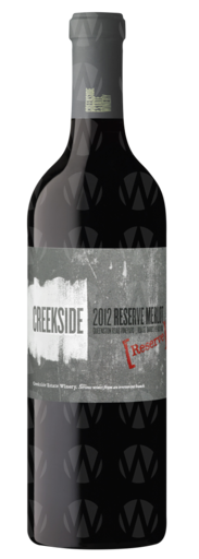 Creekside Estate Winery Reserve Merlot Queenston Road Vineyard