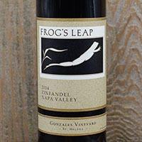 Frog's Leap Winery Zinfandel, Gonzales Vineyard Bottle Preview