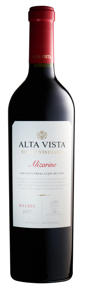 Alta Vista Wines Alta Vista Single Vineyard Alizarine Bottle Preview