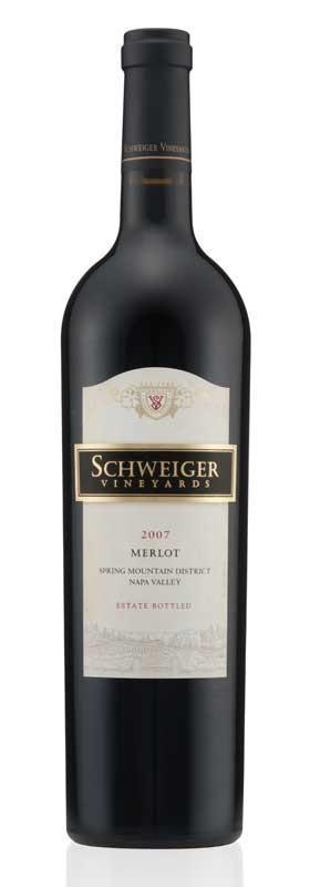 Schweiger Vineyards Merlot Bottle Preview