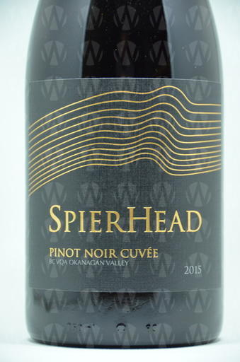SpearHead Winery Pinot Noir Cuvee