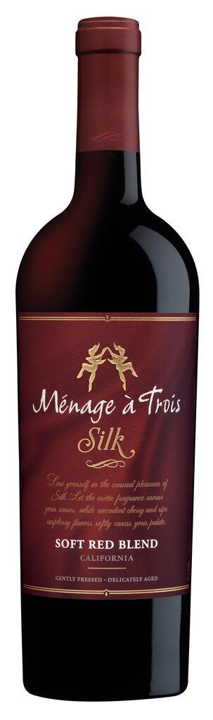 Ménage à Trois Wines Ménage à Trois Silk Soft Red Blend Bottle Preview