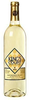 King's Court Estate Winery Sauvignon Blanc