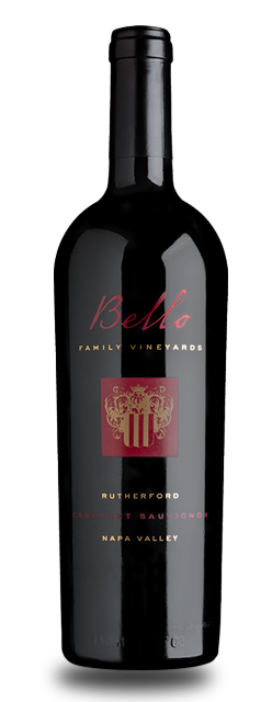 Bello Family Vineyards Rutherford Cabernet Sauvignon Bottle Preview