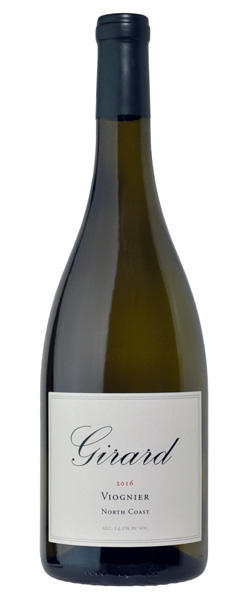 Girard Winery Viognier North Coast Bottle Preview