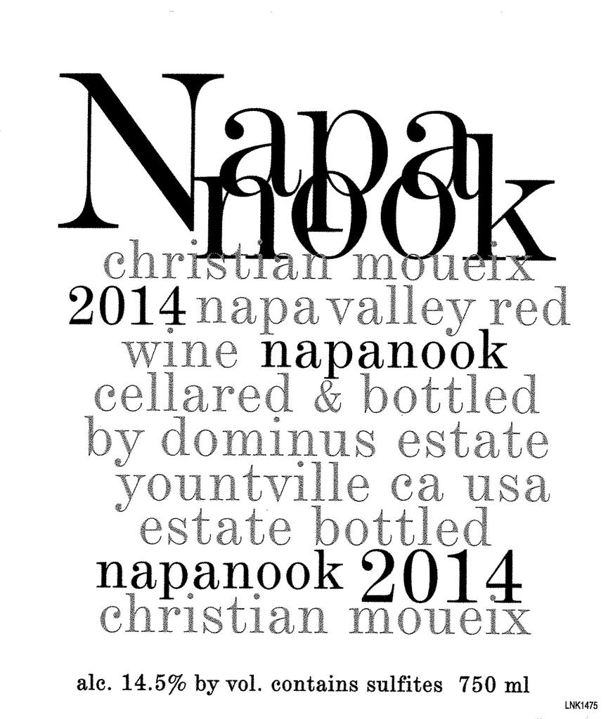 Dominus Estate NAPANOOK Bottle Preview