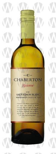 Chaberton Estate Winery Reserve Sauvignon Blanc