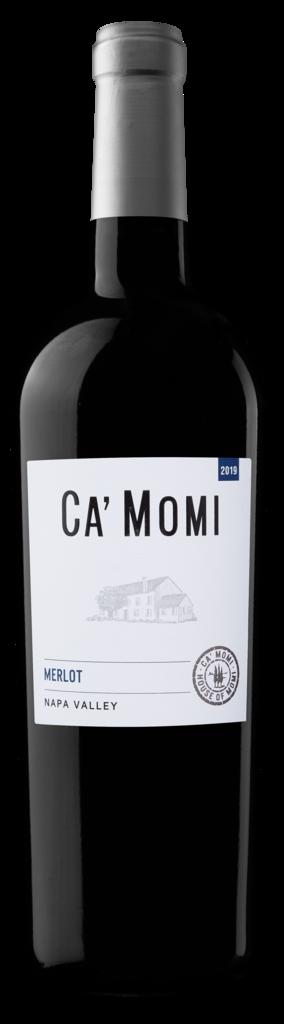 Ca' Momi Winery Merlot Bottle Preview
