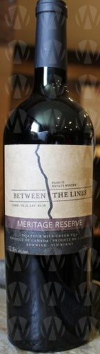 Between the Lines Estate Winery Meritage Reserve