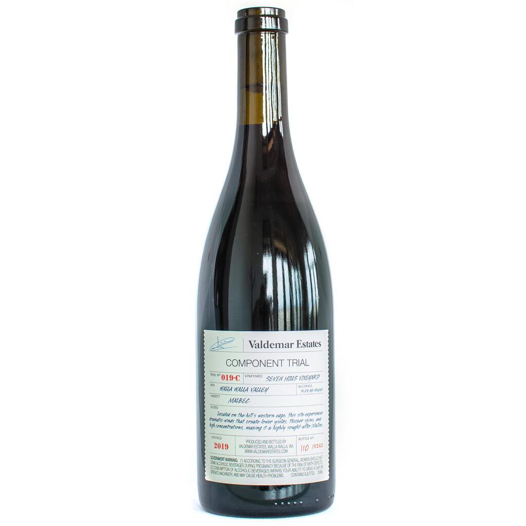 Valdemar Estates Seven Hills Vineyard Malbec Bottle Preview
